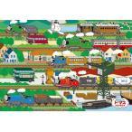 ジグソーパズル 63ピース 子供向け ピクチュアパズル せんろであそぼう 26-611(アポロ社)梱100cm
