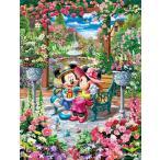 ・ジグソーパズル 500ピース ディズニー 恋咲くロイヤルガーデン ぎゅっとシリーズ ピュアホワイト (25x36cm) DPG-500-218(テンヨー)梱60cm