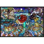 ・ジグソーパズル 1000ピース ディズニー リトル・マーメイド ストーリー ステンドグラス 【ピュアホワイト】 (51x73.5cm) DP-1000-033(テンヨー)梱80cm