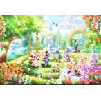 ・ジグソーパズル 1000ピース ジグソーパズル ディズニー バラの香りのガーデンパーティー 【ピュアホワイト】 (51x73.5cm) DP-1000-034(テンヨー)梱80cm