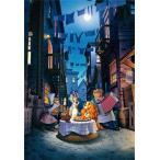 ・ジグソーパズル 1000ピース ジグソーパズル ディズニー わんわん物語 ムーンライト ディナー 【光るパズル】 (51x73.5cm) D-1000-063(テンヨー)梱80cm