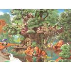 ジグソーパズル 1000ピース ディズニー ふしぎの森のツリーハウス D-1000-369