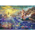 ジグソーパズル 1000ピース ディズニー リトル・マーメイド THE LITTLE MERMAID(51x73.5cm)  D-1000-489(テンヨー)梱80cm