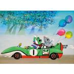 ・ジグソーパズル 500ピース 藤城清治 ケロヨンのドライブ (38x53cm) 500-242(アップルワン)梱60cm