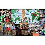 ・ジグソーパズル 500ピース ジグソーパズル 藤城清治 ラ・ビーコーヒー 人生のルーツ (38x53cm) 500-264(アップルワン)梱60cm