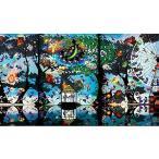 ジグソーパズル 1000ピース 藤城清治 魔法の森に燃える再生の炎 (50x75cm) (アップルワン)梱80cm 1000-831