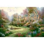 ・ジグソーパズル 1000ピース トーマス キンケード 春の庭 マイクロピース (26x38cm) (ビバリー)梱60cm M81-822