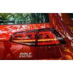 VW GOLF7 GTI 2013年〜 TSIルック LEDテール  流れるウインカー ゴルフ7 車両ドレスアップ 補修用 テールランプ