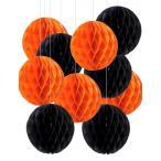 ショッピングハロウィン ハロウィン 飾り ペーパー ハニカムボール 10個セット 装飾 飾り付け パーティー 10個セット しあわせ倉庫