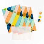 レターセット《JUICE》Usual かわいい  レターセット 手紙 雑貨 ブランド AIUEO  letter set 封筒 便箋 キュート AJL-02