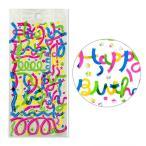 誕生日のプレゼントや写真に使えるAIUEOのシール!リボンの中からHappy Birthdayの文字が出てくる☆ribbon(SR-81)