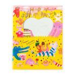≪送料無料≫ピクニックアルバム 窓付き 持ち運びにも便利なAIUEOアルバム Lサイズbirthday animal(PAML-02)