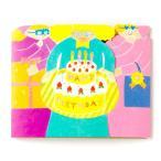 写真を入れて贈れるポケットアルバム☆メッセージを書き込んでバースデープレゼントに!開くと♪フォトレター Happy Birthday girls(ASL-04)