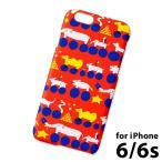iPhone6 iPhone6s ハードスマホケース★ iPhone6対応ケース ハード (IPH-41) : animal bike RD