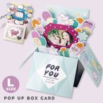 ���ӽФ��ܥå����� ���� POP UP BOX CARD �󤻽� ���꡼�ƥ��� ���� ´�� ���ե�  (gbcl)