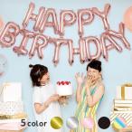 あす楽対応 バルーン HAPPY BIRTHDAY 1歳 2歳 3歳 誕生日 パーティー 飾り おしゃれ かわいい ゴールド シルバー 45cm sf2017 風船 男の子 女の子(sfg-2)