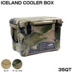 アイスランドクーラーボックス ICELAND COOLER BOX / 35QT アーミーカモ Army Camo  / CL-03502
