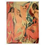 ピカソ ポスター アヴィニョンの娘たち 5人の女性 娼婦 Les Demoiselles d'Avignon 世界の名画 MAP01