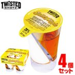 Twisted Shotz ツイステッド ショッツ BUTTERY NIPPLE バタリーニップル 25ml×4個セット