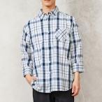 チェックシャツ メンズ ストライプシャツ 長袖 カジュアルシャツボタンダウン チェック柄 春新作 春夏