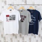 ショッピングtシャツ Tシャツ メンズ アメカジ プリントTシャツ カレッジ 半袖Tシャツ ロゴT 文字 カットソー 春夏