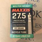 MAXXIS マキシス Welter Weight Tube 27.5x2.20/2.50 Presta Valve ウェルターウェイトチューブ【MTB】【27.5インチ】【仏式】