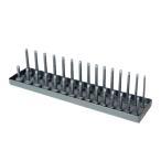 Snap-onスナップオン同等品3/8(9.5mm)用【小】スタンド型ソケットホルダー/ソケットピンレール 6~20mm 1mm刻み