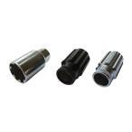 ホイールナット 国産品 ロング ローレット ロックナットセット スチール クロモリ製 SCM435 貫通 17HEX 40mm 4個セット