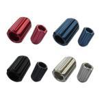 カラーホイールナット 国産品 ショート ロックナットセット アルミ製 貫通 19HEX 34mm