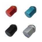 カラーホイールナット 国産品 ショート アルミ製 袋 19HEX 31mm