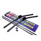アウディ TT 2006〜 エアロワイパー 左右セット 交換ゴム付