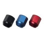 カラーホイールナット 国産品 軽自動車にピッタリ アルミ製 袋 19HEX 25mm