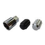 ホイールナット 国産品 ショート ロックナットセット スチール製 袋 19HEX 31mm