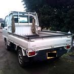 軽トラック 荷台 あおり 丸型
