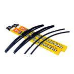 スズキ ジムニーワイド (00.2〜03.6) 3Dトーナメント式エアロワイパー 左右セット 交換ゴム付