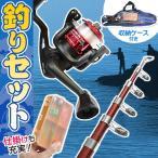 ◆リニューアルOPEN◆ 釣り道具 基本セット(釣り竿/糸/リール/仕掛箱など) キャリングケース付き 初心者にもオススメ ◇ 釣りセット