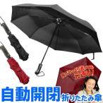◆送料無料◆ 自動開閉 折りたたみ傘 耐風傘 開くも閉じるも手元ボタンでワンタッチ!大判サイズ 約96cm 風に強い頑丈設計 ◇ 傘RJ
