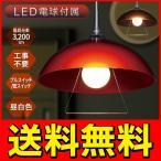 ◆送料無料◆【昼白色LED電球付き】ペンダントライト 天井照明 透け感のある美しいランプシェード 寝室 リビング ダイニング カフェ等に ◇ ペンダント