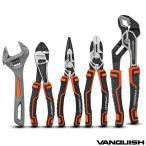ヴァンキッシュ おしゃれ 工具 セット ユニーク デザイン ペンチ ニッパー ラジオペンチ モンキーレンチ ウォーターポンププライヤー WORK & DIY 工具