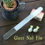 〜洗って何度でも使える〜 ガラスの爪やすり 【チェコ製】 フットケアファイル ( レギュラータイプ )