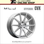 MLJ HYPERION CVX 9.5J-20インチ (45) 5H/PCD114.3 ホイール1本 セミグロスポリッシュ/シルバー ハイペリオン・CVX