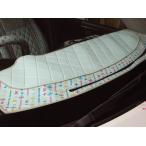 ショッピングステップワゴン ステップワゴン RF1/RF2 モノグラムマルチカラーダッシュマット 前期(H8.5-H11.4) エアバック:無用 カラー:ホワイト
