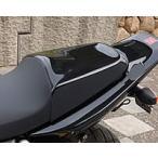 マジカルレーシング CB400SF VTEC タンデムシートカバー カーボン(ウェット) 綾織りカーボン製 クリア塗装済み
