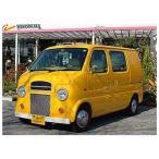 Kumoi Moters エブリィワゴン DA62W Toy Mobil フロントキット ライトカバータイプ2 メッキ加工無