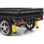 SHIFT SPORTS ハイゼットトラック S500P/S510P 慶虎 マッドフラップ(泥よけ) 2枚1SET カラー:イエロー