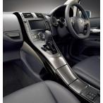 トヨタ モデリスタ ブレイド AZE15※ 2009/12〜 イルミネイテッドインテリアパネルセット (6点セット、LEDイルミネーション付き) ピアノブラック