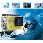 「新入荷」送料無料スポーツカメラ アクションカメラ 1080Pフル170度広角レンズ 30M防水 バイク/自転車/車などに取り付け可能 防水ケール付き900mAH電池代引不可