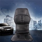 電動マッサージ車載用 カーシートカバー PUレザー 運転をサポートするシートクッション 全身、首、腰、背中マッサージ 代引不可 送料無料