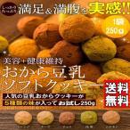 ギフト ヘルシー&DIET応援 新感覚満腹 おから 豆乳 ソフトクッキー 250g ダイエット オカラ 送料無料