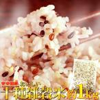 タイムセール 父の日 お米 米 雑穀 健康 美容 完全国産 十種雑穀米 どっさり 1kg